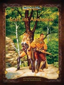 """Cover der Abenteuersammlung """"Start ins Abenteuer"""""""