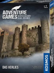 Spieleschachtel des Brettspiels Das Verlies vom Kosmos Verlag
