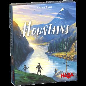Spieleschachtel des Brettspiels Mountains vom Haba Verlag