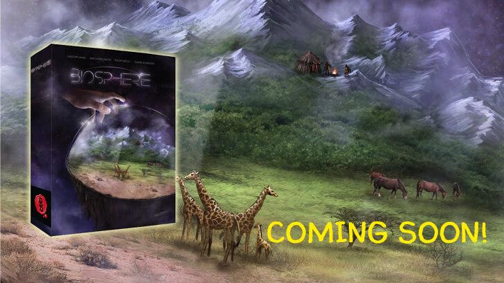 Ankündigung des Brettspiels Biosphere vom DDD Verlag