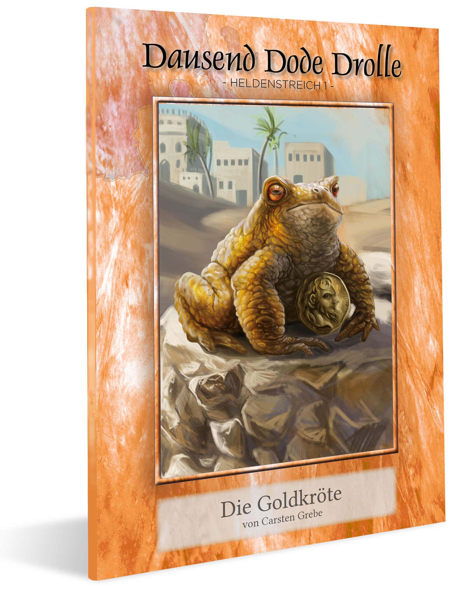 Cover DDD Heldenstreich 1 - Die Goldkroete