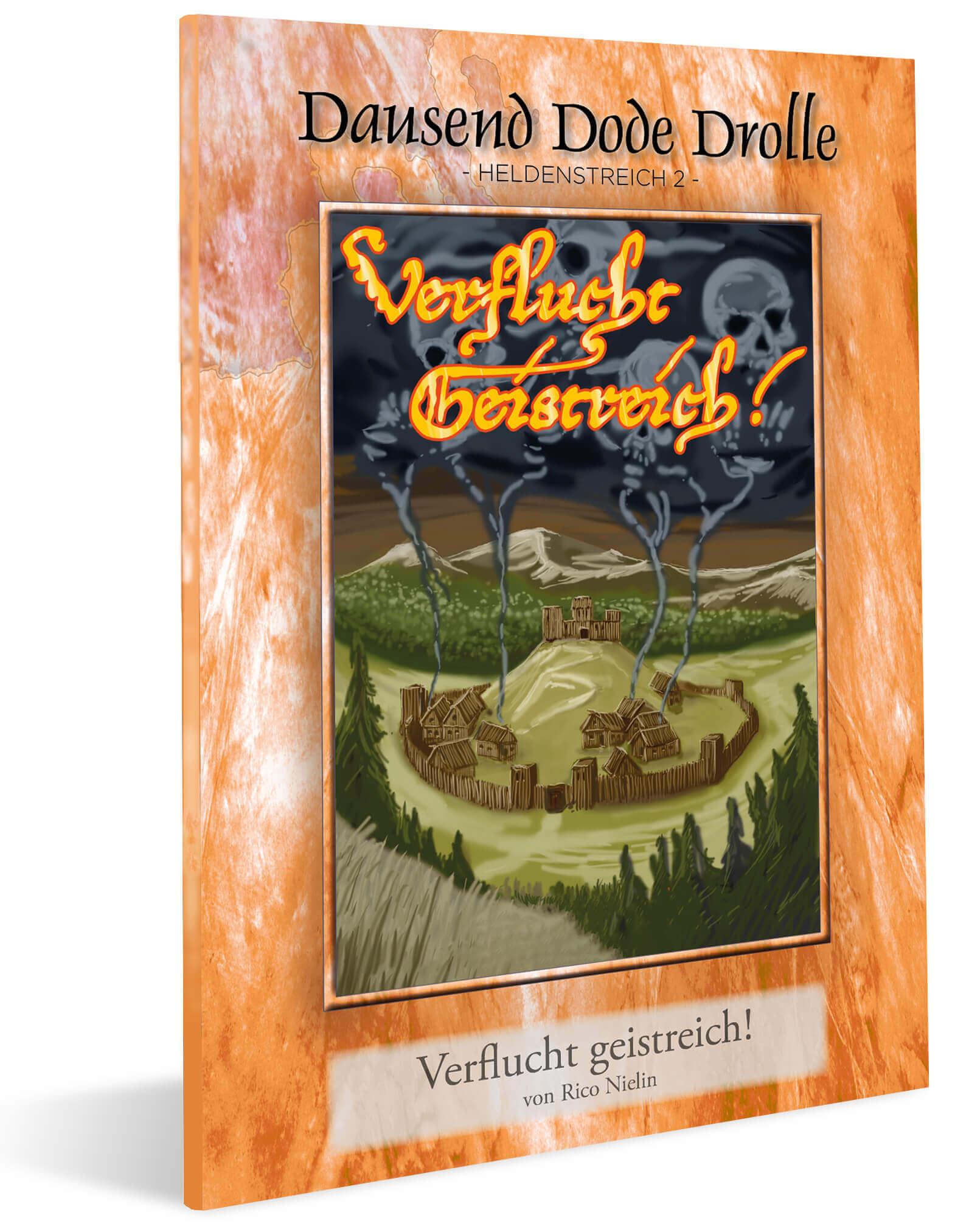 Cover DDD Heldenstreich 2 - Verflucht Geistreich!