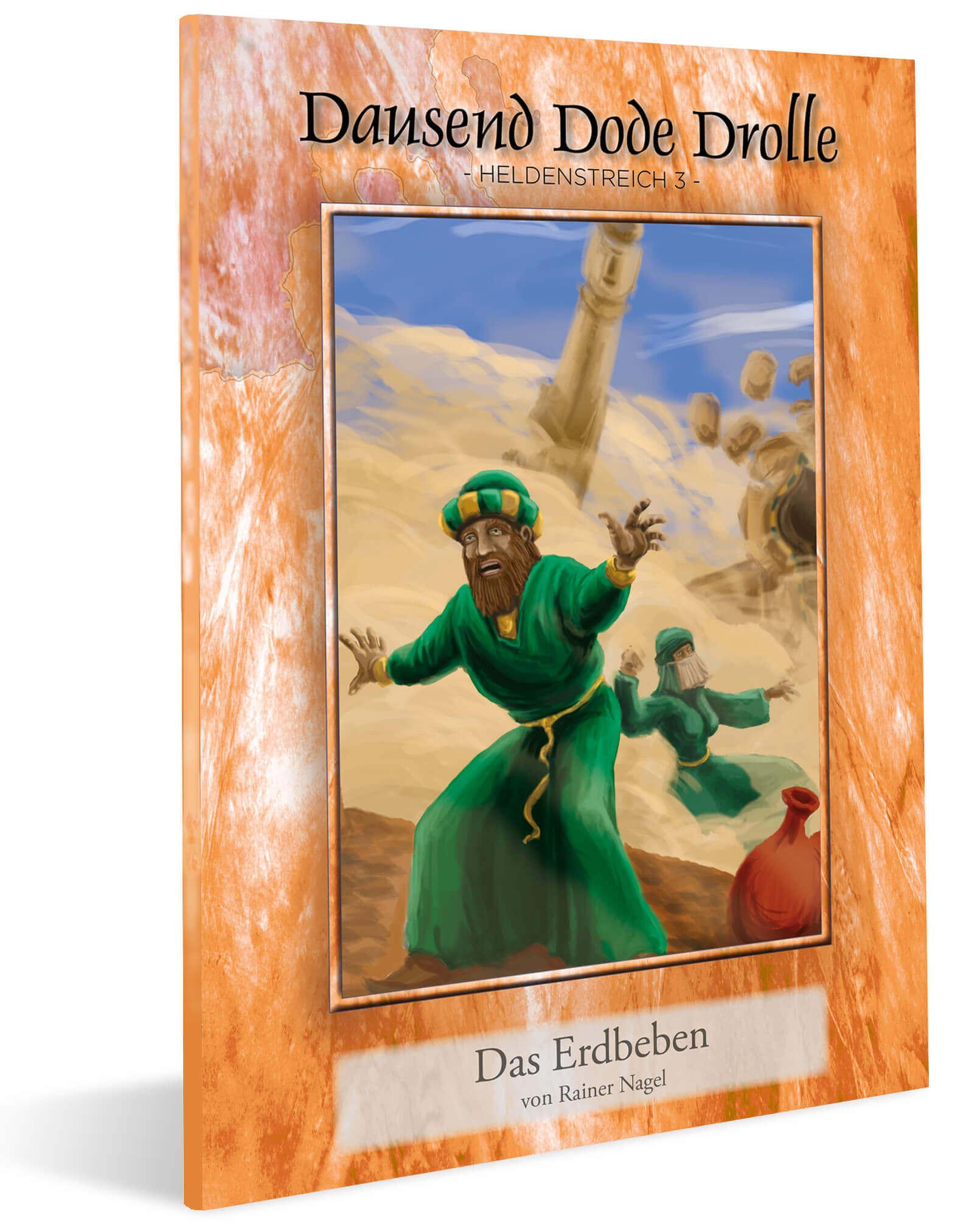 Cover DDD Heldenstreich 3 - Das Erdbeben