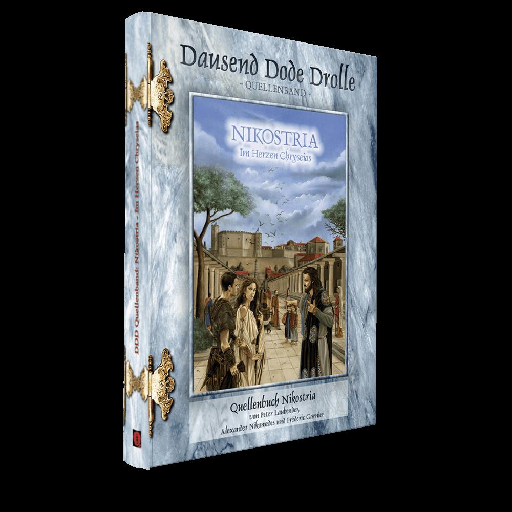 Cover Midgard Quellenband Nikostria - Im Herzen Chryseias
