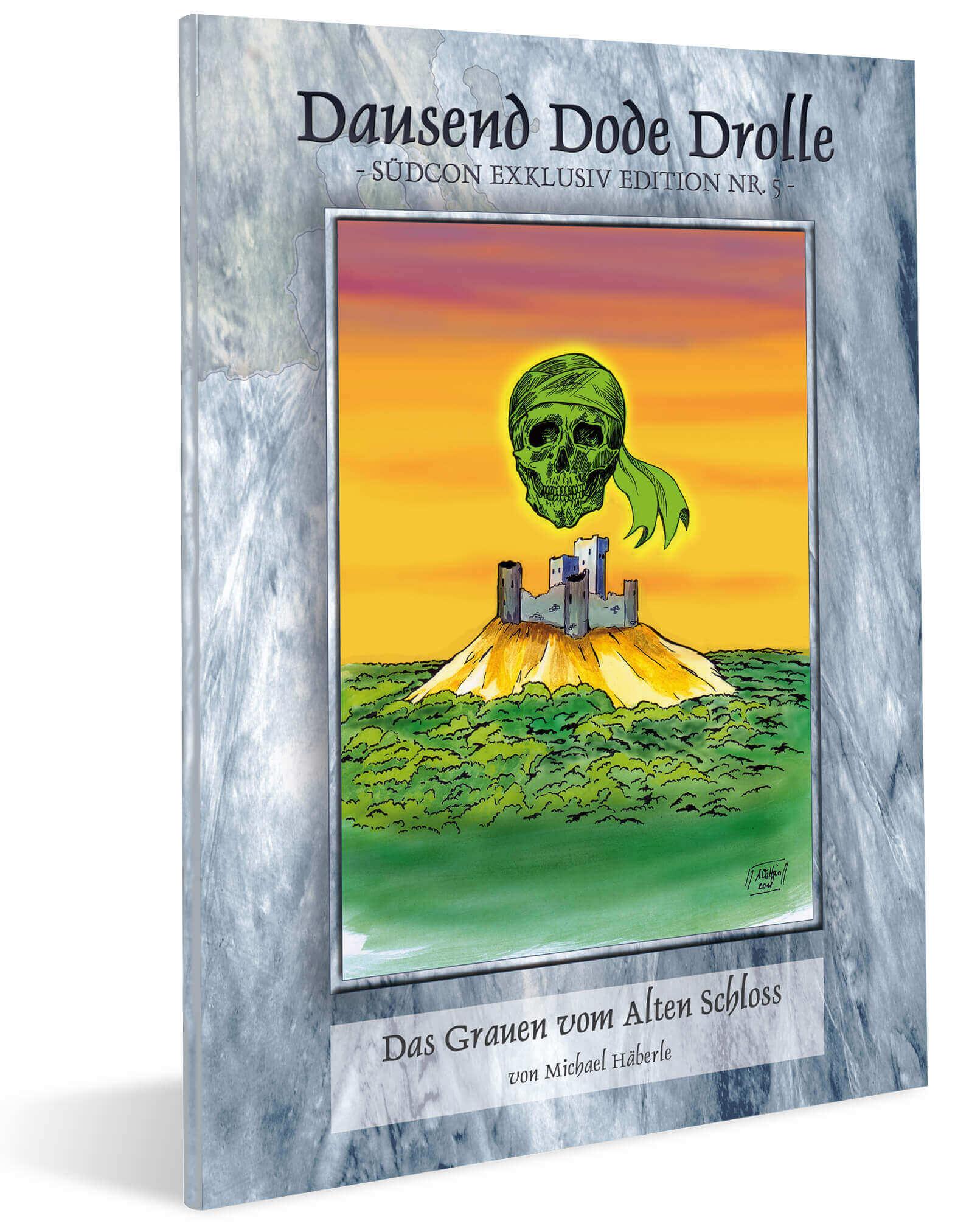 Cover Midgard Südcon Abenteuerband Das Grauen vom Alten Schloss