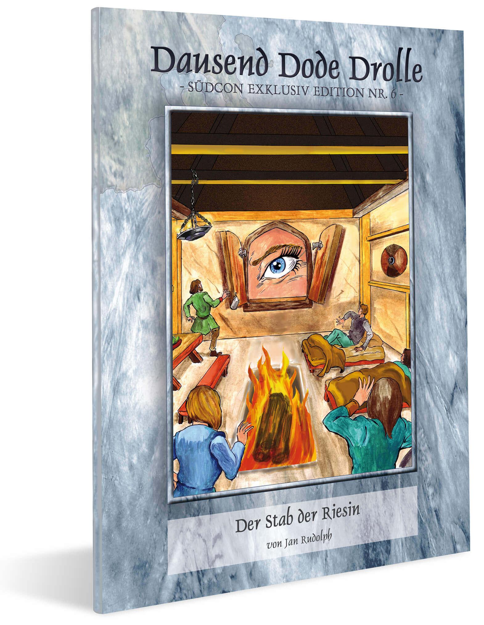 Cover Midgard Südcon Abenteuerband Der Stab der Riesin