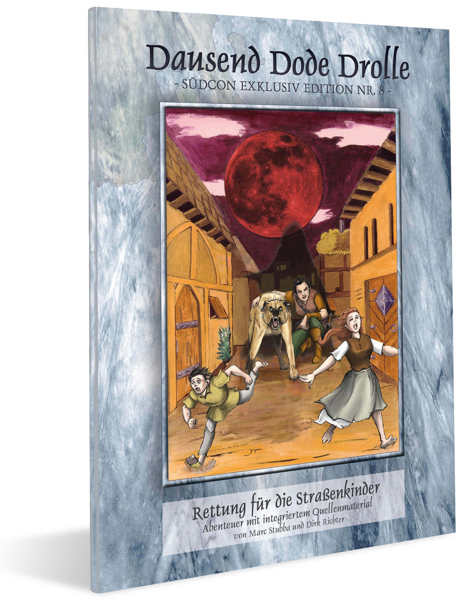 Cover Midgard Südcon Abenteuerband Rettung für die Straßenkinder