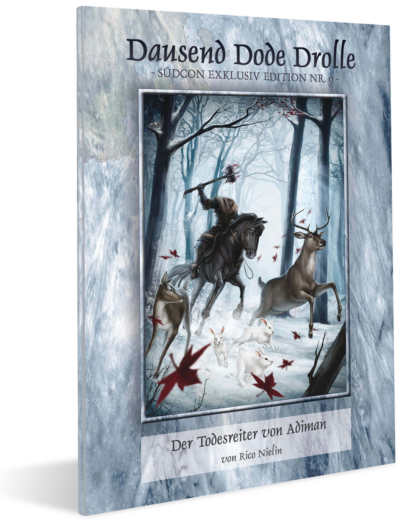 Cover Midgard Südcon Abenteuerband Der Todesreiter von Adiman