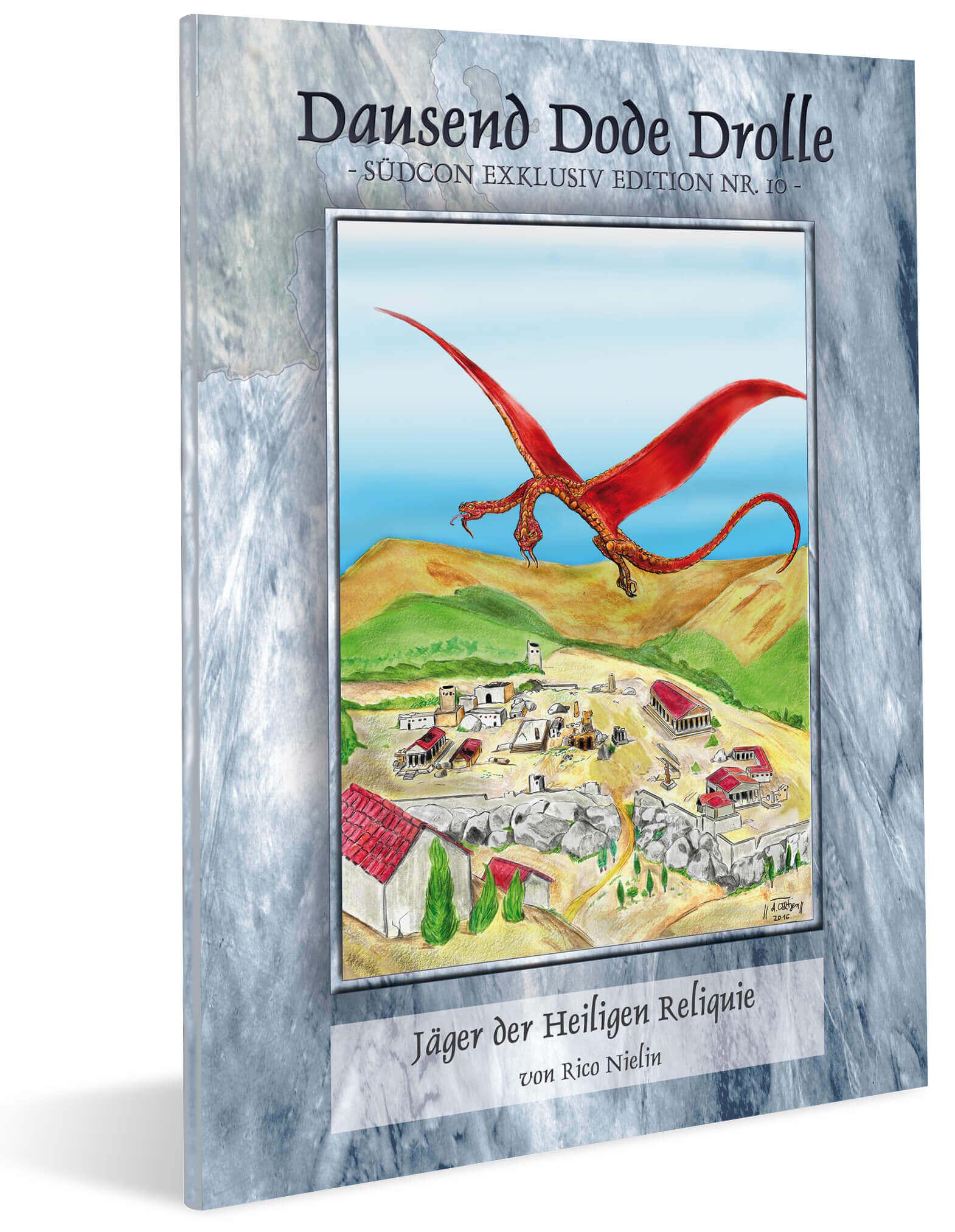 Cover Midgard Südcon Abenteuerband Jäger der Heiligen Reliquie