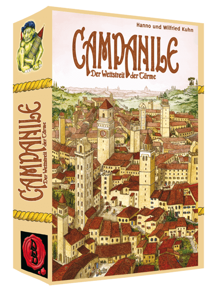 Cover Kartenspiel Campanile - Der Wettstreit der Türme