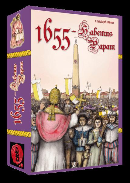 Cover Kartenspiel 1655 - Habemus Papam