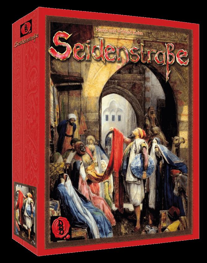 Cover Brettspiel Seidenstraße