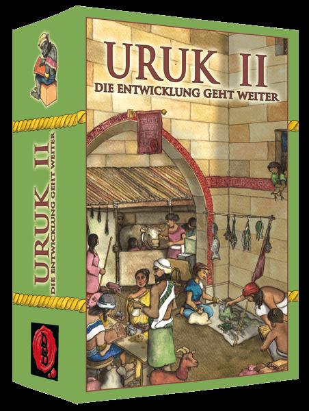 Cover Kartenspiel Uruk II - Die Entwicklung geht weiter
